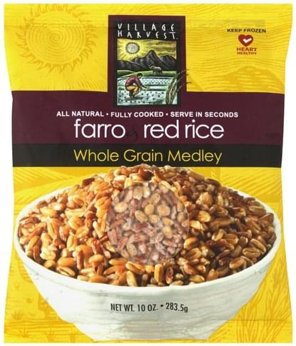 Village Harvest Farro & Red Rice Whole Grain Medley - 10 oz