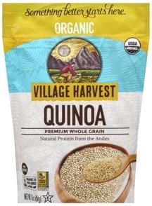 Village Harvest Quinoa Organic, Premium, Whole Grain
