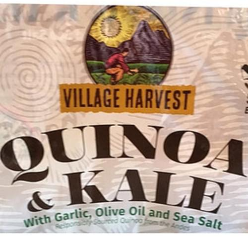 Village Harvest Olive Oil and Sea Salt Quinoa & Kale - 142 g