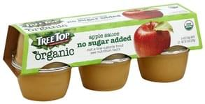 Tree Top Apple Sauce No Sugar Added, Organic