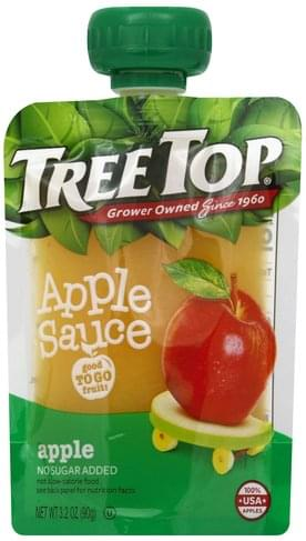 Tree Top Apple Apple Sauce - 3.2 oz