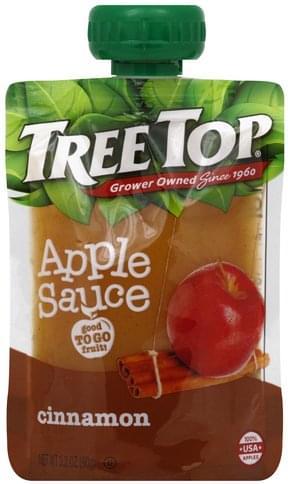 Tree Top Cinnamon Apple Sauce - 3.2 oz