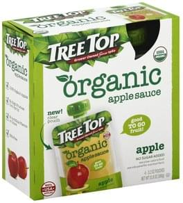 Tree Top Apple Sauce Organic, Apple