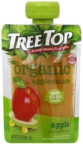 Tree Top Good to Go Fruit!, Organic Apple Sauce - 3.2 oz