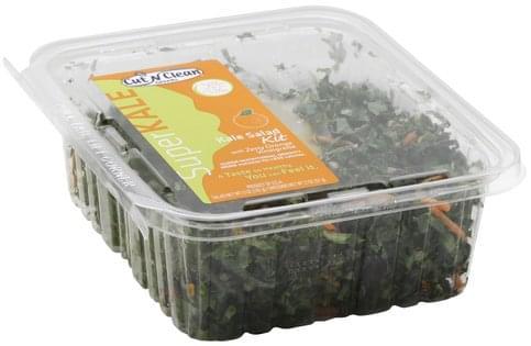 Cut N Clean with Zesty Orange Vinaigrette Rainbow Kale Salad Kit - 1 ea