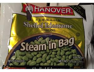 Hanover Shelled Edamame Soybeans Steam in Bag