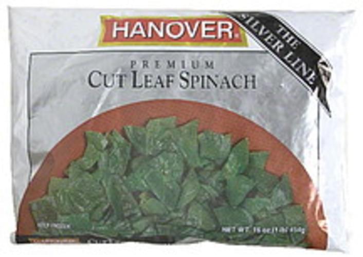 Hanover Premium Cut Leaf Spinach - 16 oz