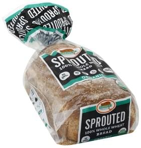 Alvarado St Bread Organic, Sprouted, 100% Whole Wheat