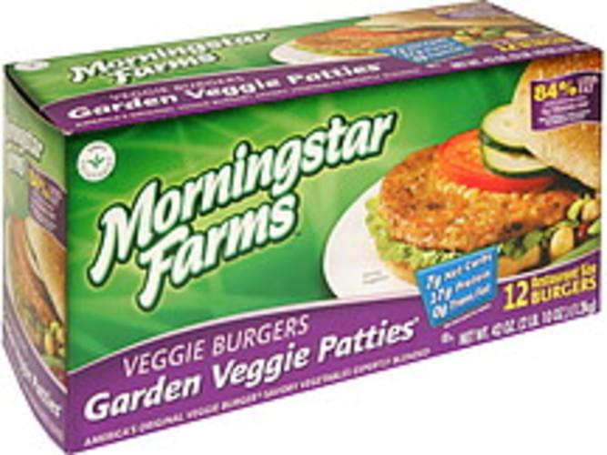 MorningStar Farms Garden Veggie Patties Veggie Burgers - 12 ea