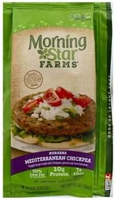 Morningstar Farms Burgers Veggie, Mediterranean Chickpea
