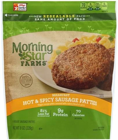 Morningstar Farms Veggie, Hot & Spicy