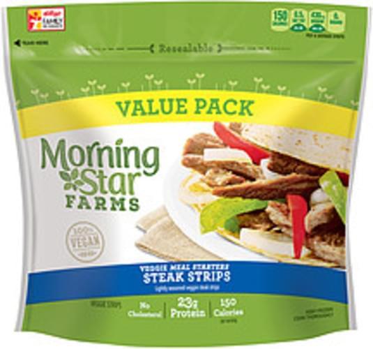 MorningStar Farms Meal Starters Steak Strips Veggie Strips - 13.5 oz