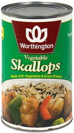 Worthington Vegetable Skallops Vegetarian, Low Fat
