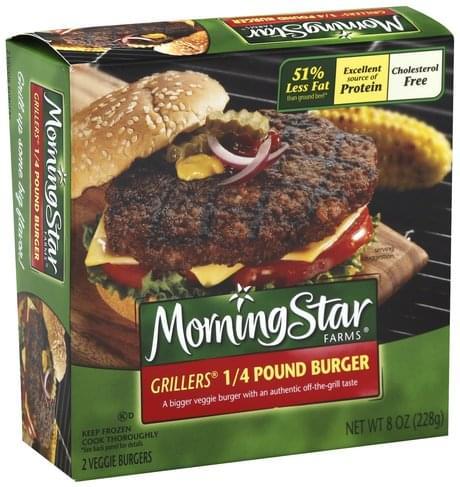 MorningStar Farms 1/4 Pound Veggie