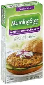 Morningstar Farms Veggie Burgers Mediterranean Chickpea