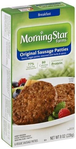 Veggie Sausage Patties