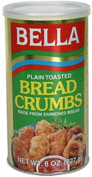 Bella Plain Toasted Bread Crumbs - 8 oz