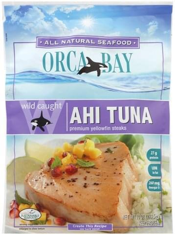 Orca Bay Wild Caught Ahi Tuna - 10 oz