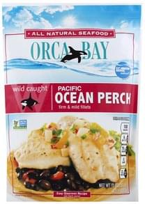 Orca Bay Seafoods Ocean Perch Pacific, Wild Caught, Firm & Mild Fillets