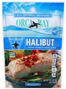 Orca Bay Seafoods Halibut Premium Skinless & Boneless Portions