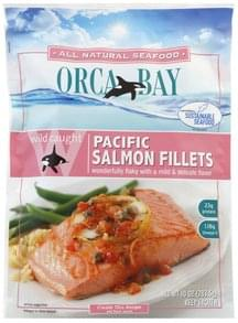 Orca Bay Pacific Salmon Fillets Wild Caught
