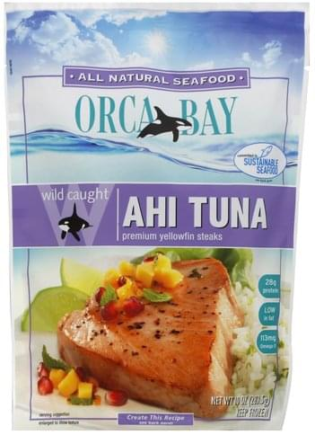 Orca Bay Seafoods Wild Caught Ahi Tuna - 10 oz