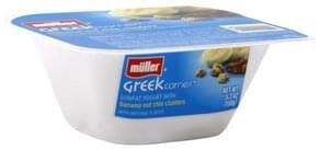 Muller Yogurt Greek, Lowfat, Banana Nut Chia Clusters