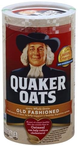 Quaker Old Fashioned Oatmeal - 18 oz