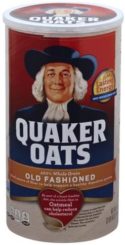 Quaker Old Fashioned Oatmeal - 42 oz