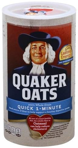 Quaker Quick 1-Minute Oatmeal - 18 oz