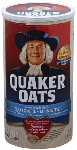 Quaker Quick 1-Minute Oatmeal - 42 oz