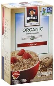 Quaker Oatmeal Instant, Original