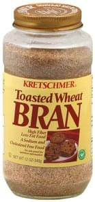 Kretschmer Bran Toasted Wheat