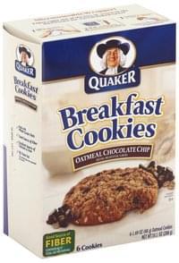 Quaker Breakfast Cookies Oatmeal Chocolate Chip