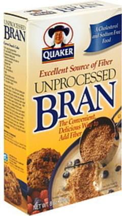 Quaker Unprocessed Bran
