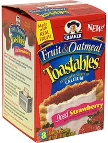 Toastables Iced Strawberry Toaster Pastries - 8 ea