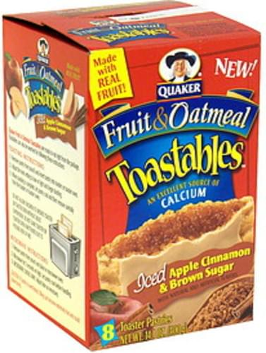 Toastables Iced Apple Cinnamon & Brown Sugar Toaster Pastries - 8 ea