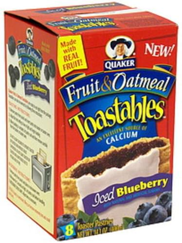 Toastables Iced Blueberry Toaster Pastries - 8 ea