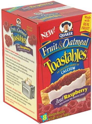 Toastables Iced Raspberry Toaster Pastries - 8 ea