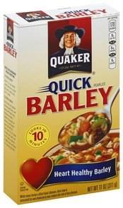 Quaker Barley Pearled, Quick