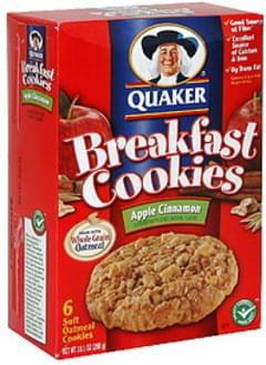 Quaker Breakfast Cookies Apple Cinnamon