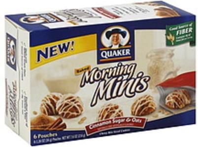 Quaker Chewy Bite-Sized Cookies Cinnamon Sugar & Oats