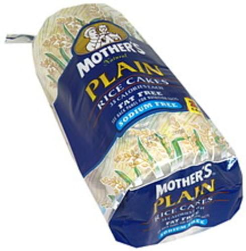 Mothers Plain Natural Rice Cakes - 14 ea