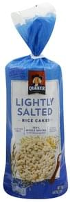 Quaker Rice Cakes Lightly Salted