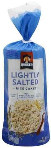 Quaker Lightly Salted Rice Cakes - 4.47 oz