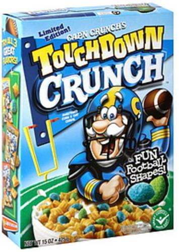Christmas Crunch Cereal.Cap N Crunch Touchdown Crunch Cereal 15 Oz Nutrition