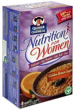 Quaker Instant Oatmeal Golden Brown Sugar