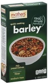 Mothers Barley Quick Cooking