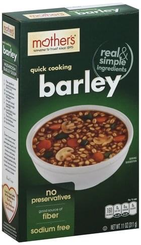 Mothers Quick Cooking Barley - 11 oz