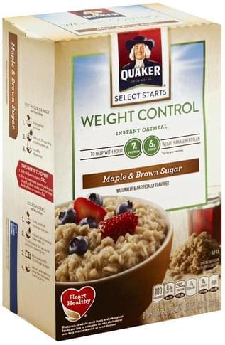 Quaker Instant, Maple & Brown Sugar